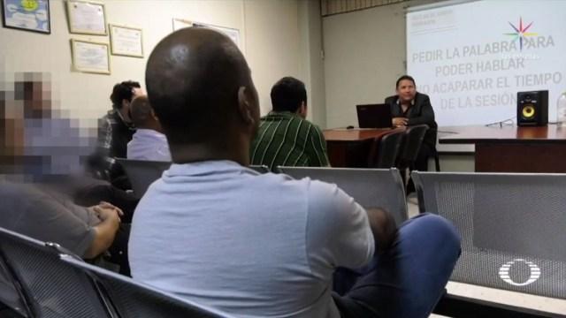 Foto: En las sesiones, que duran cerca de dos horas, se analiza los tipos de violencia hacia la mujer, ya sea física, económica o sexual