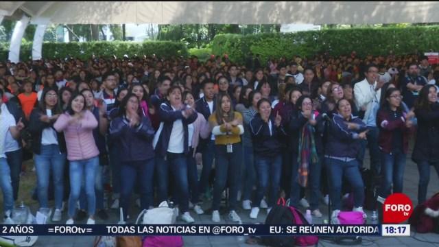 FOTO: Magno coro de la Ciudad de México en el Zócalo, 15 diciembre 2019