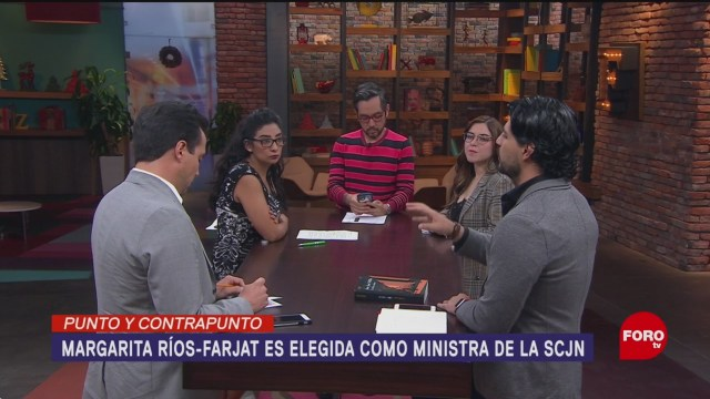 Foto: Margarita Ríos-Farjat, Nueva Ministra SCJN 5 Diciembre 2019