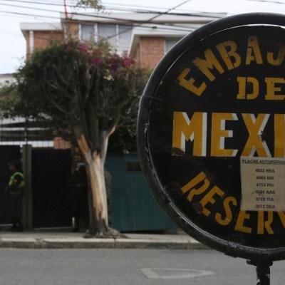 SRE: México no planea nombrar personas 'non gratas' a funcionarios bolivianos