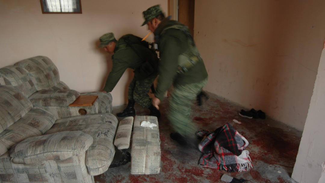 Foto: Masacre en Villas de Salvárcar, México
