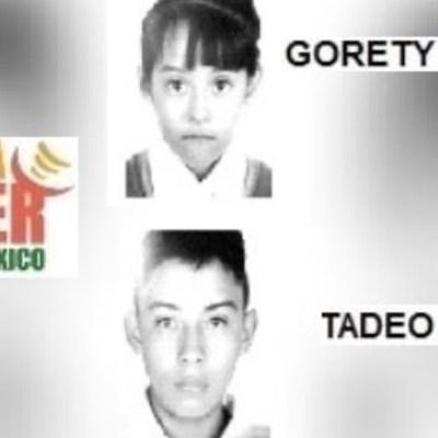 Activan Alerta Amber para localizar a Tadeo Juan y Gorety Nickoll