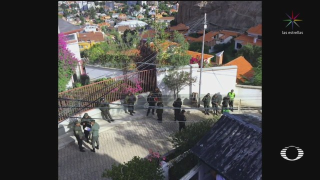 Foto: México Exige Bolivia Cesar Hostigamiento Amedrentamiento 24 Diciembre 2019