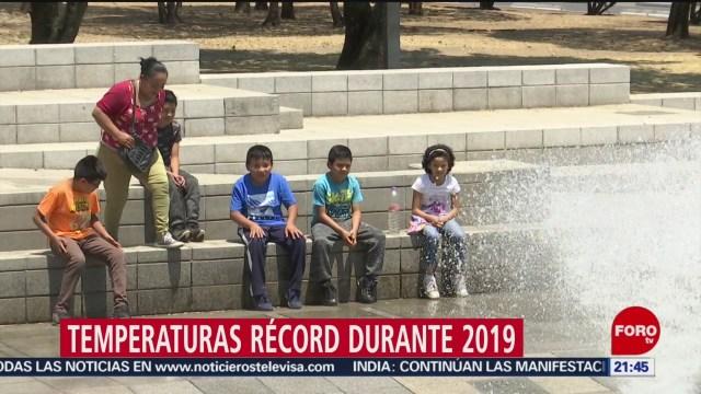 Foto: México Vivió Ola Calor Histórica 2019 27 Diciembre 2019