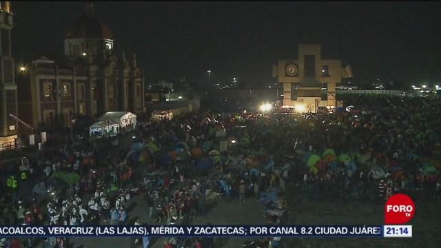 Foto: Peregrinos Basílica Guadalupe Las Mañanitas 11 Diciembre 2019