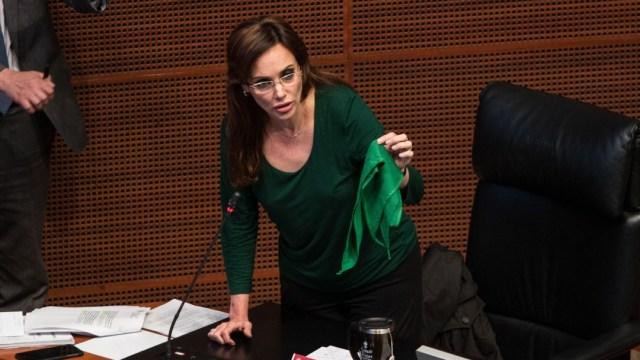 Monreal afirma que Lilly Téllez no está afiliada a Morena