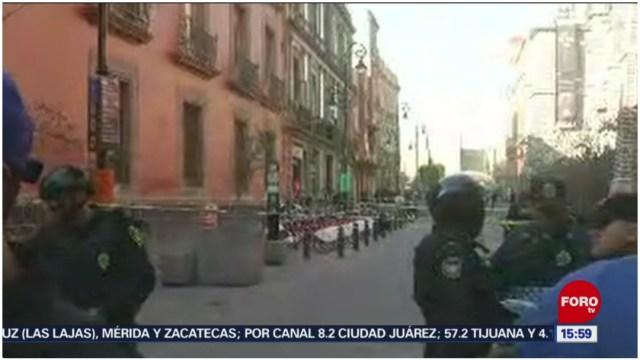 Foto: Muere una persona tras registrarse balacera en el Centro Histórico de la CDMX, 7 de diciembre de 2019 (Foro TV)