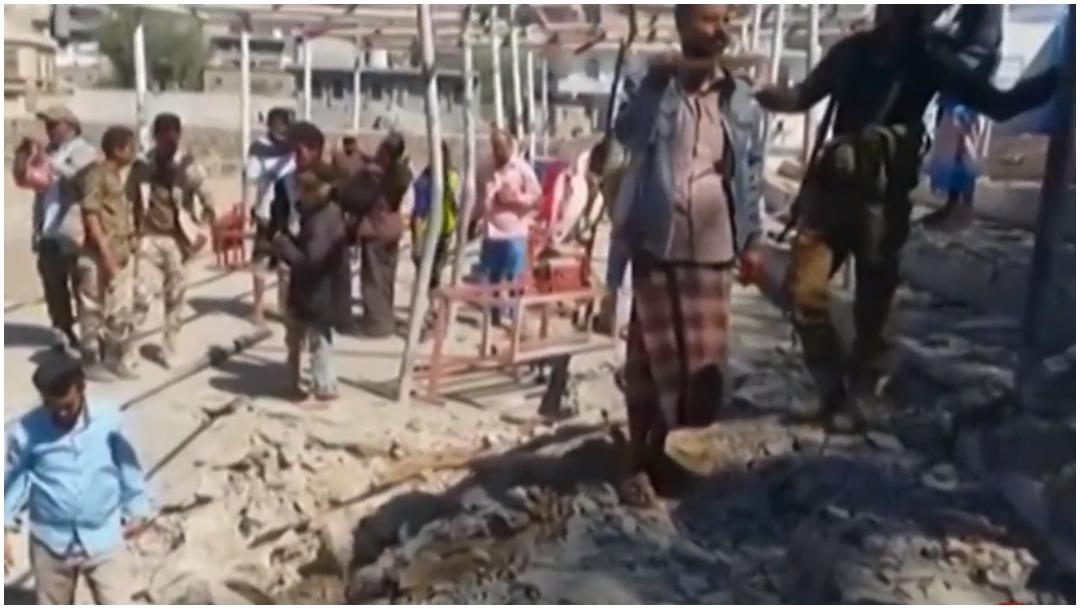 Foto: Diez fallecen tras ataque en desfile militar en Yemen, 29 de diciembre de 2019 (Foro TV)