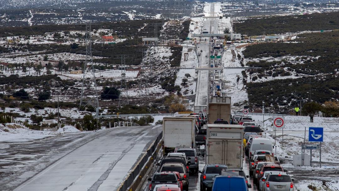 Foto: Prevén caída de nieve o aguanieve esta noche en tres estados, 28 de diciembre de 2019 (OMAR MARTÍNEZ /CUARTOSCURO.COM)