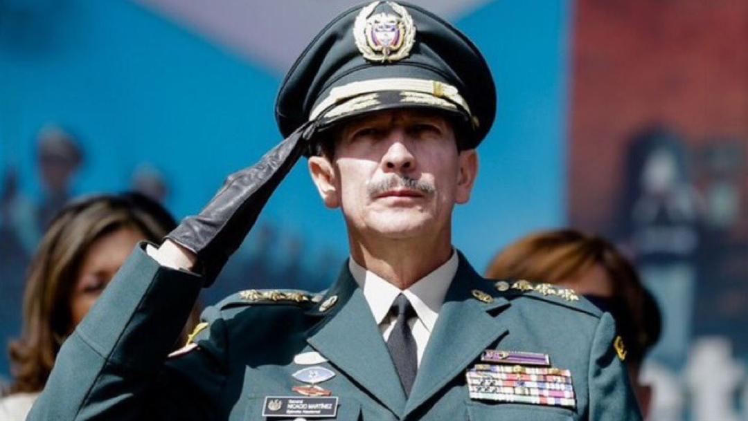 Fotografía del general Nicacio Martínez, 27 diciembre 2019