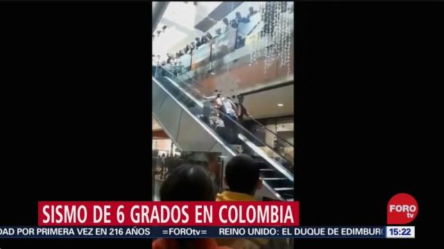 no se reportan danos por sismo en colombia