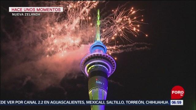 Foto: nueva zelanda entre los primeros paises que festeja ano nuevo