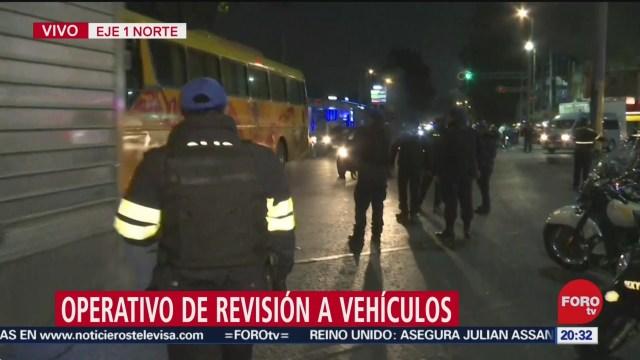 Foto: Operativo Revisión Vehículos Inmediaciones Tepito 20 Diciembre 2019