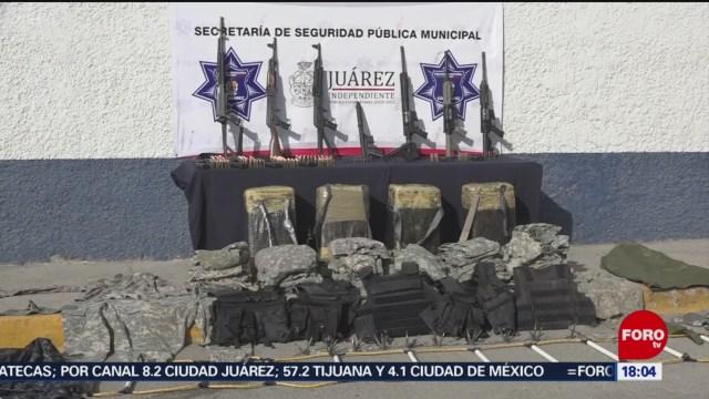 Foto: Operativo Frozen Tráfico Armas Chihuahua 23 Diciembre 2019