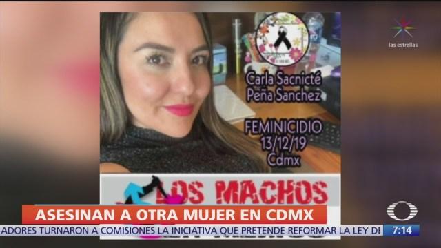 pgjcdmx investiga asesinato de carla pena sanchez