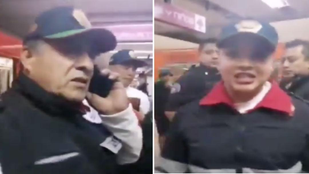 Video Video: Policías niegan apoyo a víctima de abuso en el Metro 26 diciembre 2019