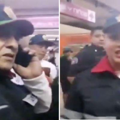 Video: Policías niegan apoyo a víctima de abuso en el Metro
