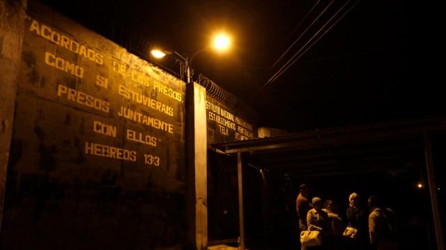 FOTO: Prisión de Tela en Honduras, el 25 de diciembre de 2019