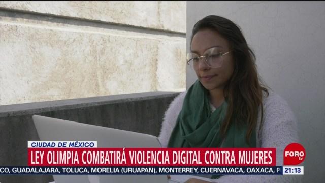 Foto: Ley Olimpia Penas Violencia Digital 12 Diciembre 2019