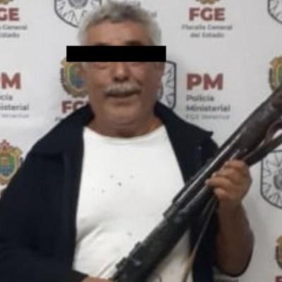 Foto: Habitantes vuelven a bloquear por arresto de 'Don Ramón', 14 de diciembre de 2019 (Fiscalía General del Estado de Veracruz)