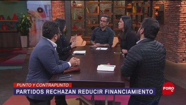 Foto: Rechazan Reducir Financiamiento Partidos Políticos 16 Diciembre 2019