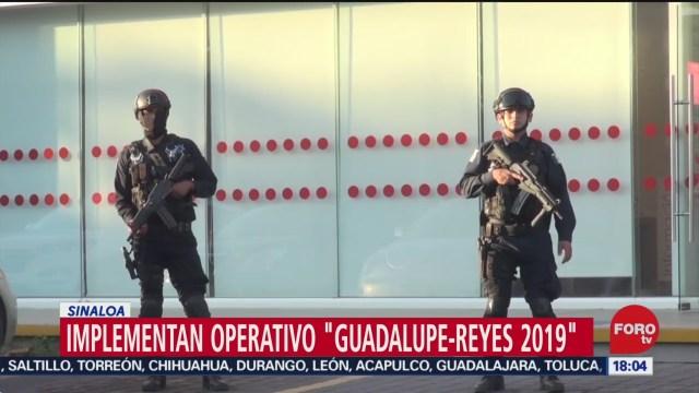 FOTO: 22 diciembre 2019, refuerzan medidas se seguridad en sinaloa