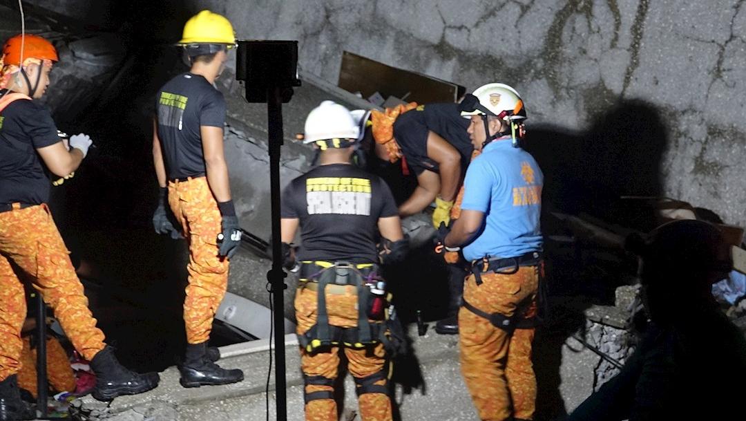 fOTO: La Oficina de Protección contra Incendios que participa en las labores de rescate, 15 DICIEMBRE 2019