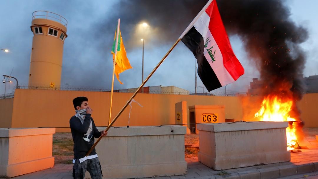 Foto: Responderemos con fuerza, dice Trump tras ataque a embajada en Irak