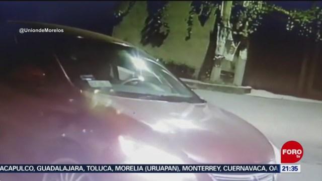Foto: Video Robo Auto Jóvenes Jiutepec Morelos Hoy 29 Diciembre 2019