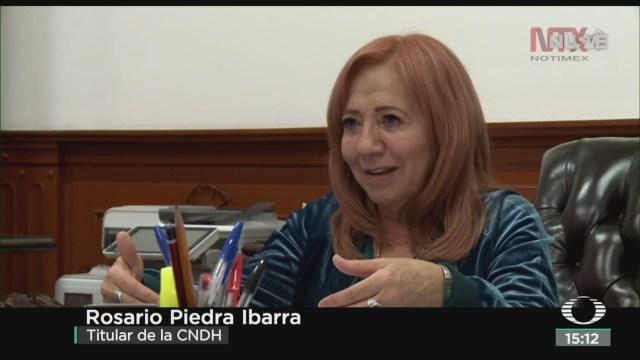 Rosario Piedra Habla Desaparición Forzada