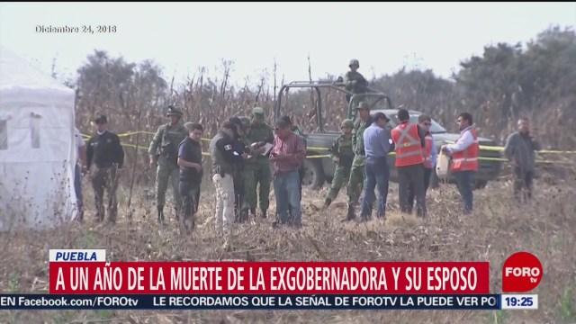 Foto: Un Año Tragedia Gobernadora Puebla Moreno Valle 24 Diciembre 2019