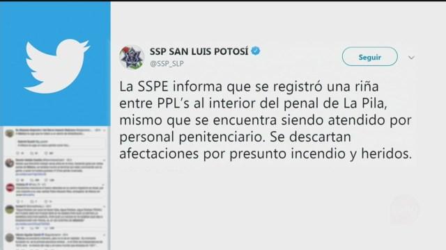 Foto: Riña Penal La Pila Slp 23 Diciembre 2019