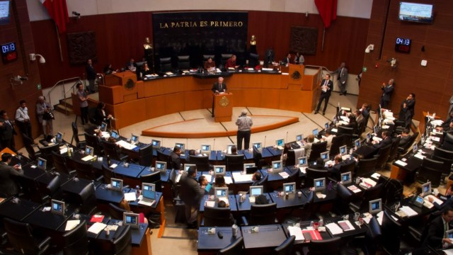FOTO: Senado de la República, el 22 de diciembre de 2019