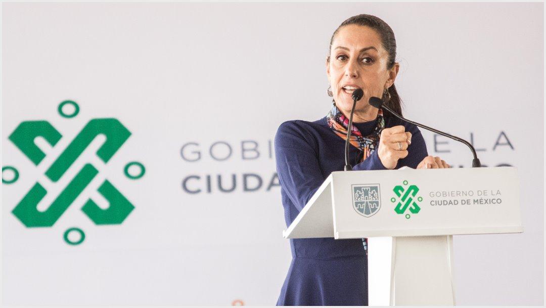 Imagen: Claudia Sheinbaum acudió al MP para apoyar a mujeres, 1 de diciembre de 2019 (VICTORIA VALTIERRA /CUARTOSCURO.COM)