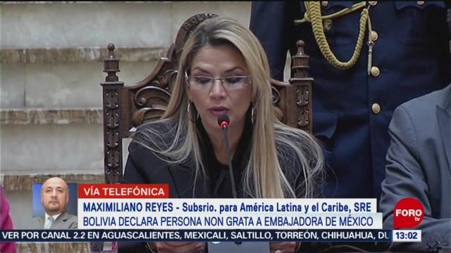 sre pide a bolivia dialogar para superar crisis diplomatica