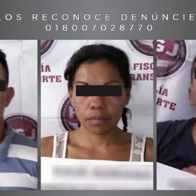Sentencian a tres por robar en transporte público en Ecatepec