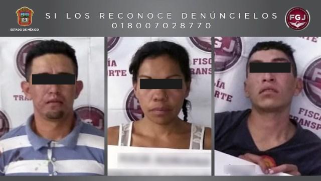 FOTO: Sentencian a tres por robar en transporte público en Ecatepec, el 28 de diciembre de 2019