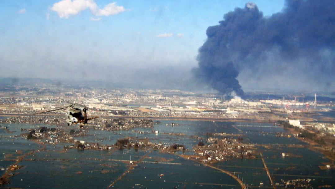Foto: Vista aérea de los daños ocasionados por terremoto de magnitud 8.9 y tsunami que afectó a Japón, 12 de marzo de 2011