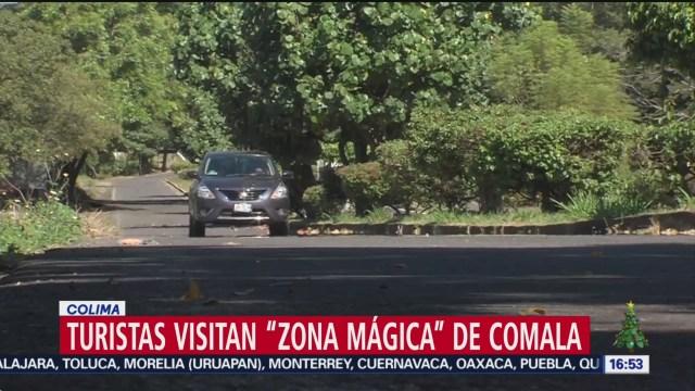 Foto: Comala Colima Turistas Visitan Zona Mágica 29 Diciembre 2019