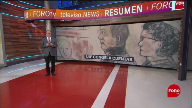 FOTO: UIF Congela Cuentas Genaro García Luna