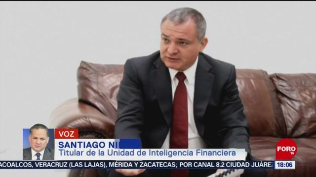 FOTO: UIF Investiga Colaboradores Cercanos Genaro García Luna