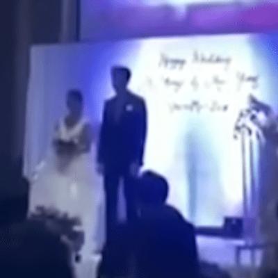 Video: El día de su boda se vengó de su novia por serle infiel