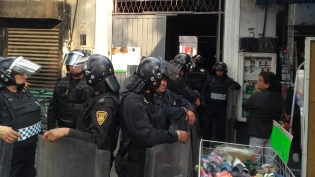operativo policiaco en peralvillo