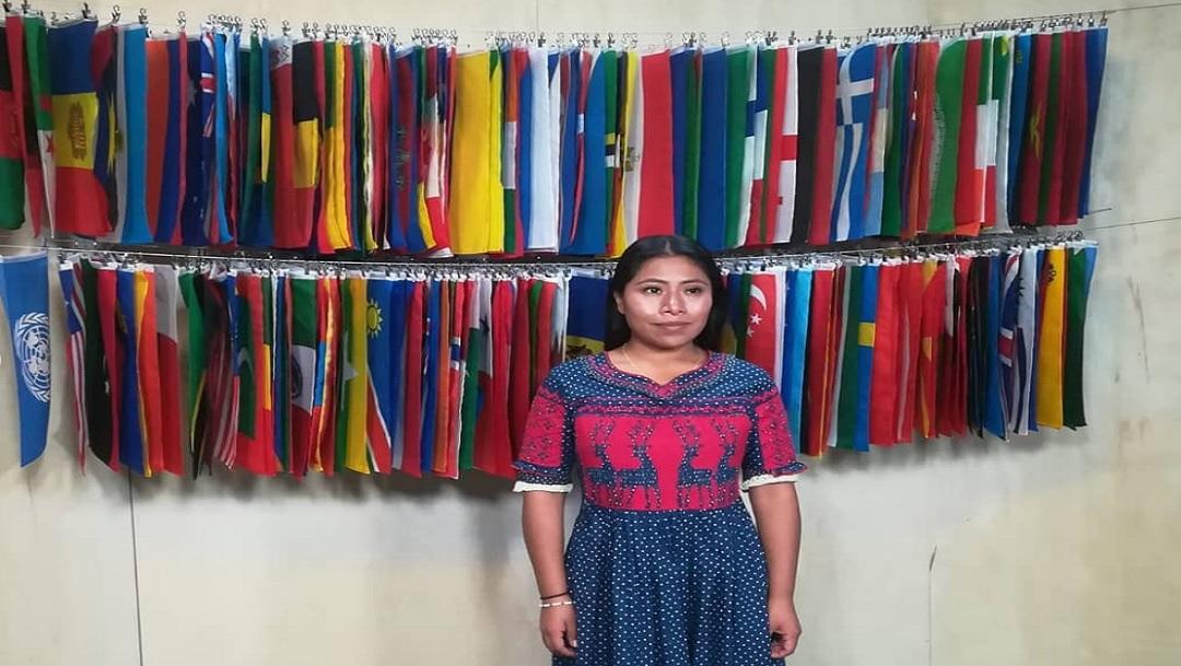 Yalitza Aparicio urge en la ONU proteger las lenguas indígenas