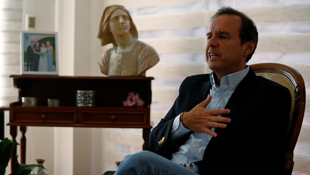 Jorge Quiroga, delegado presidencial de Bolivia