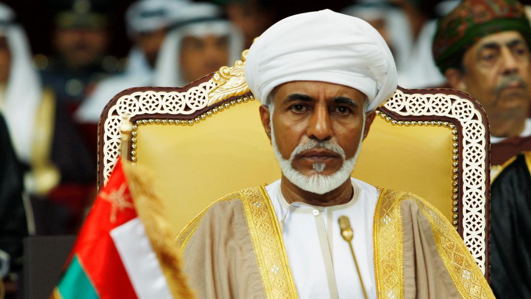 Fallece el sultán de Omán a los 79 años