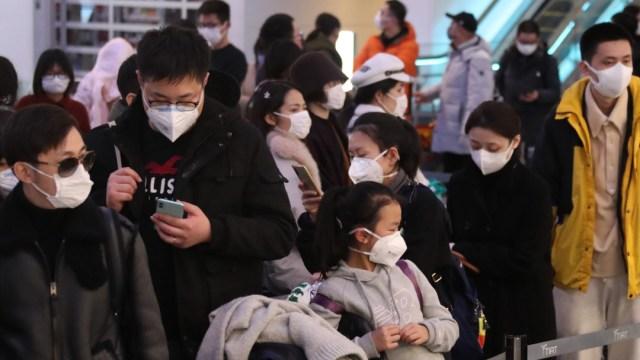 FOTO: Muchas personas se ponen en cuarentena voluntaria por el coronavirus, el 16 de febrero de 2020