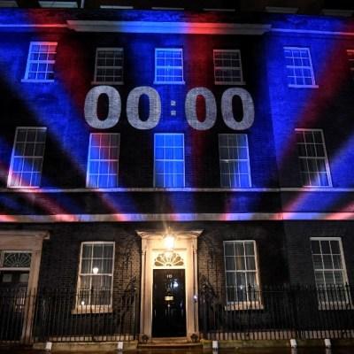 Fotos y videos: Celebran y lamentan salida del Reino Unido de la Unión Europea