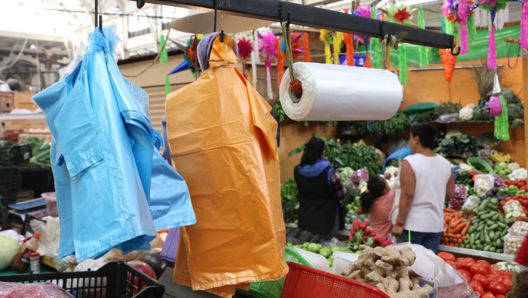 Foto: Prohibición de bolsas de plástico ha beneficiado a comerciantes, 09 de enero de 2020, (Cuartoscuro, archivo)