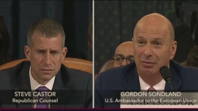 Foto: Los abogados del presidente Donald Trump presentan sus argumentos en el Senado de Estados Unidos, 25 enero 2020